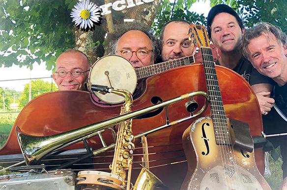Accueil du site - les 5 têtes de Jazz